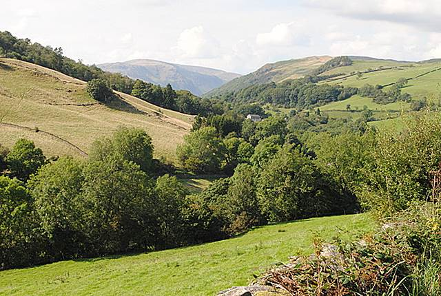 Approaching Longsleddale valley from the A6 - Westmorland valleys