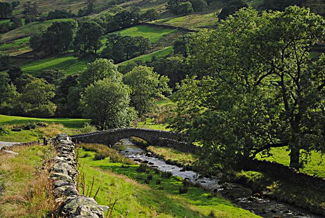 Sadgill packhorse bridge Longsleddale - Westmorland valleys