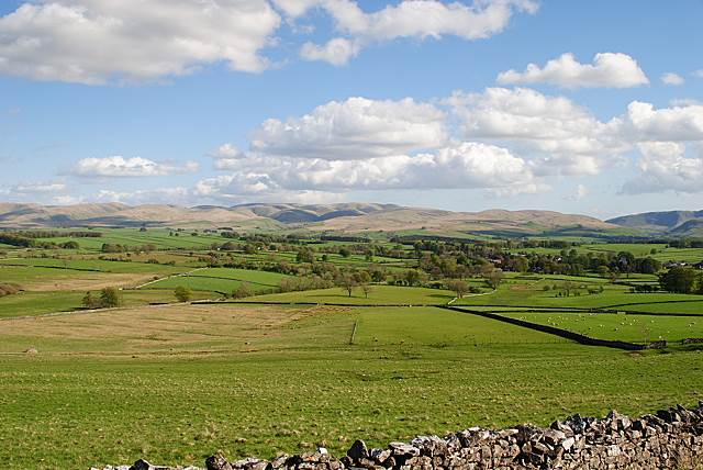 Orton Common, the Lune Valley and the Howgills - Westmorland