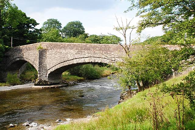 Lincoln's Inn Bridge over the River Lune near Sedbergh